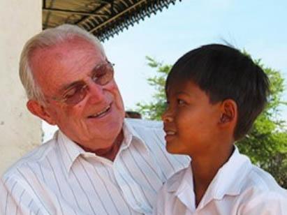 Dois Rosser, the founder of ICM, an international christian organization.