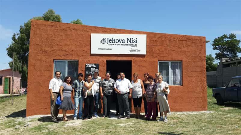 Christian nonprofit organization builds church in
