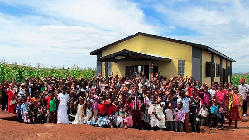 Christian nonprofit organization builds church in Madagascar